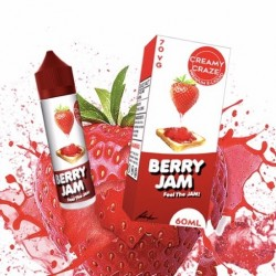 E Liquide Berry Jam - Creamy Craze 50 ML (Shortfill)