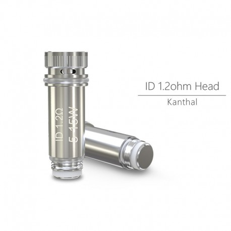Résistances ID 1.2ohm Head Eleaf (Pack de 5)