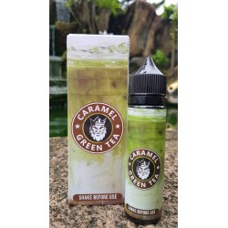 E Liquide Caramel - Green Tea / Flamingo 50ML (Mix & Vape)