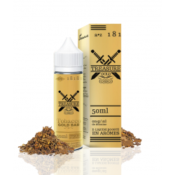 E Liquide Tobacco Gold - Treasure Gold 50 ML (Mix & Vape)